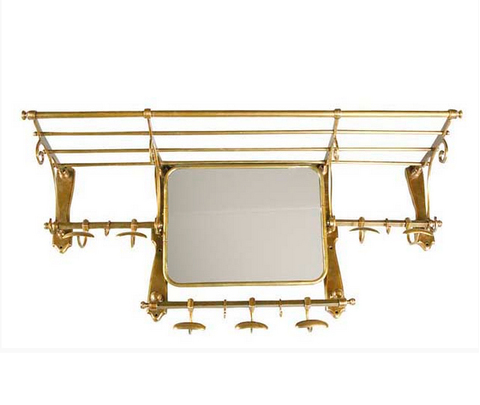 Вешалка, модель «COATRACK OLD FRENCH WITH MIRROR»