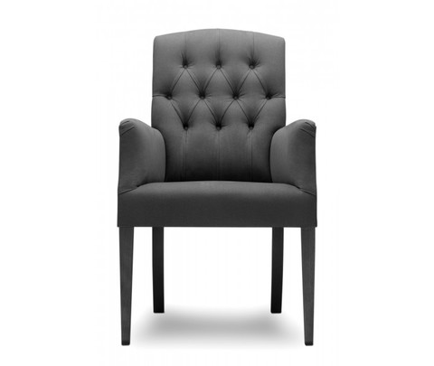 Стул, модель «EATON F UPHOLSTERED WITH BUTTONS»