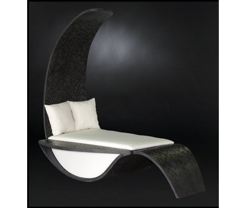 Кушетка, Шезлонг, модель «CHAISE LONGUE ANTHONY LEGNO»