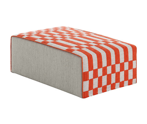 Пуф «BANDAS BIG POUF B ORANGE»