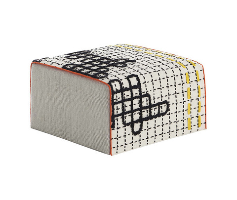 Пуф «BANDAS SMALL POUF D WHITE»